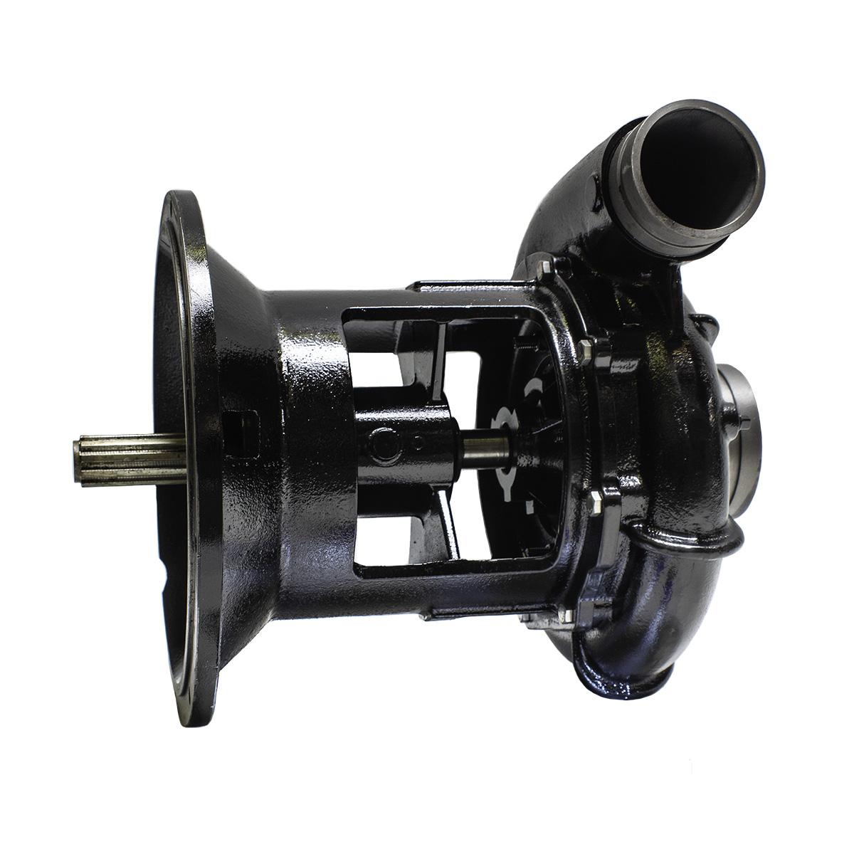 B3zq S Sae 5 Engine Mount Pump Cw Groove