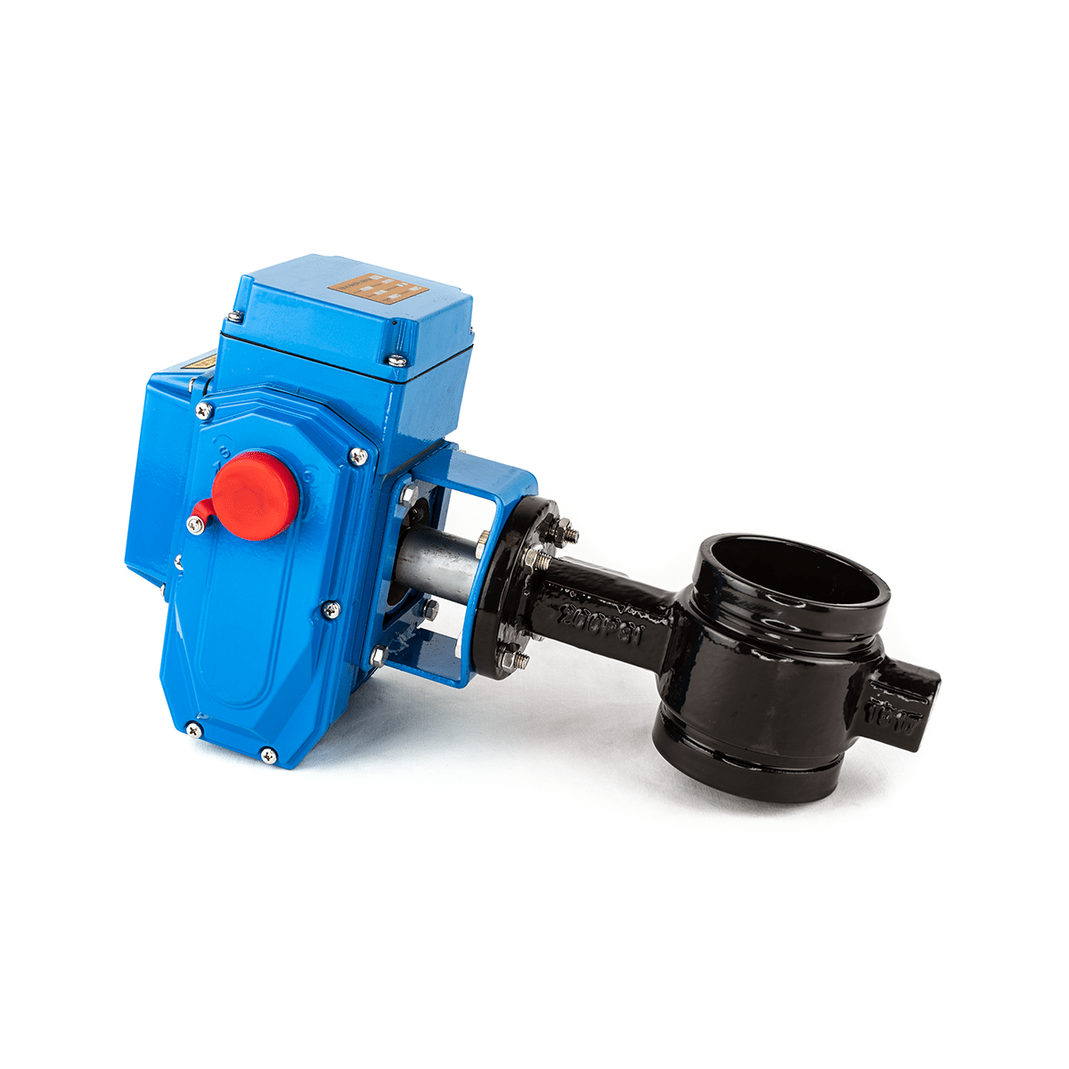 Buy Grooved Butterfly Valve 12v Electric Online At Manual Guide